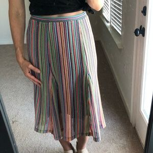 Beautiful Anthropologie skirt by Maeve XS
